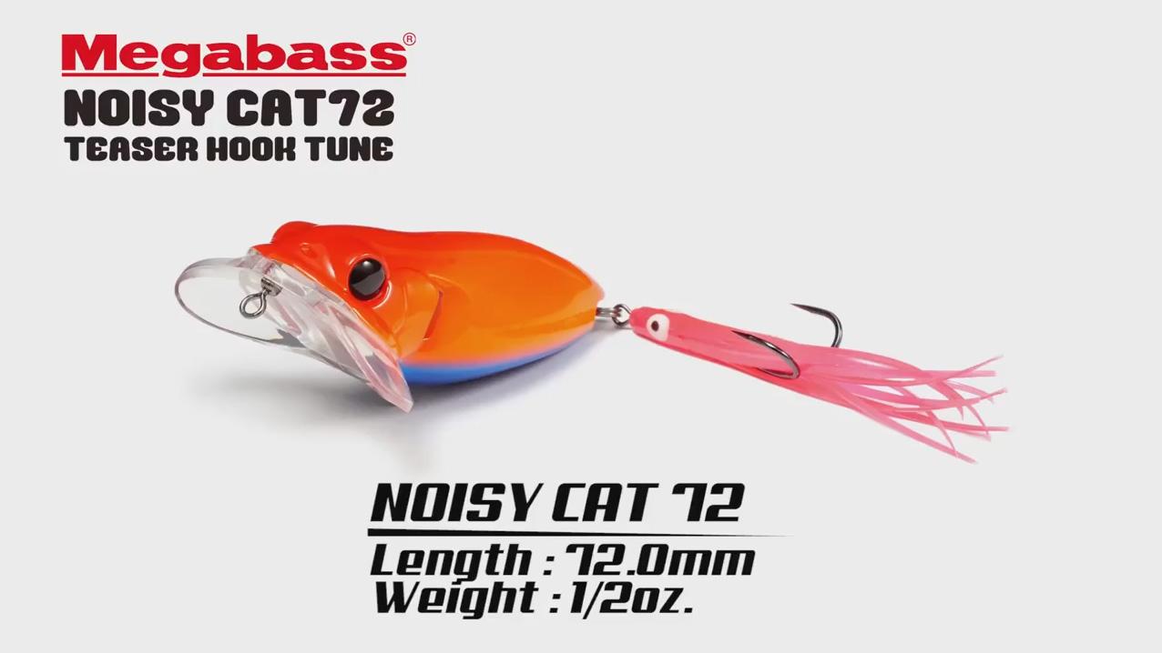 NOISY CAT 72 TEASER HOOK TUNE