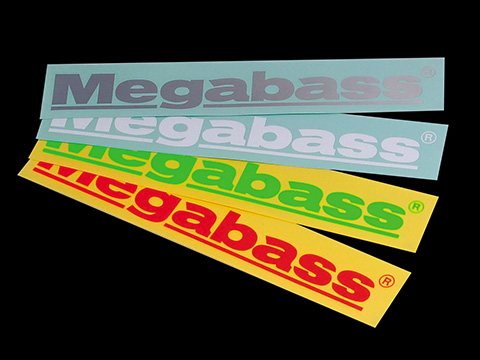 MEGABASS CUTTING STICKER