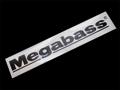 MEGABASS CUTTING STICKER(CARBON PATTERN)