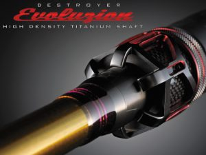 EVOLUZION  HIGH DESITY TITANIUM SHAFT