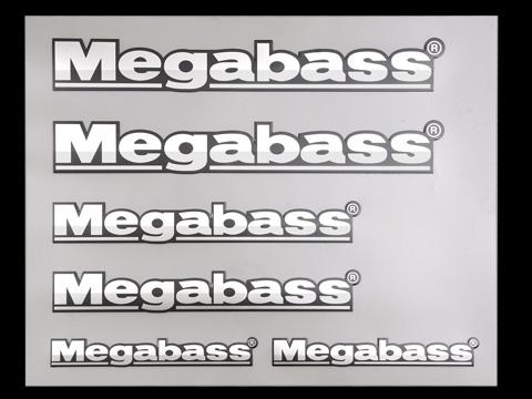 Megabass EMBLEM STICKER