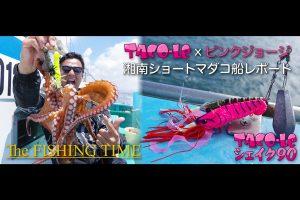 TACO-LE × ピンクジョージ・湘南ショートマダコ船レポート
