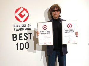 EVOLUZIONシリーズとI×I SHADシリーズの受賞で20回目、200作品を達成!